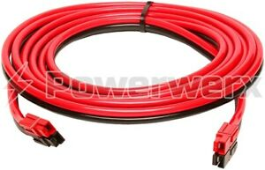 Powerwerx 14 AWG Red/Black Zip Cord 20 Foot Extension Cable with Powerpole Conn
