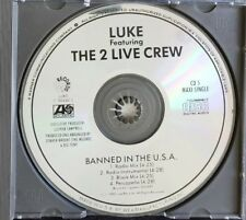 Banned In The U.S.A. CD The Luke LP Featuring The 2 Live Crew Rare OOP Tested