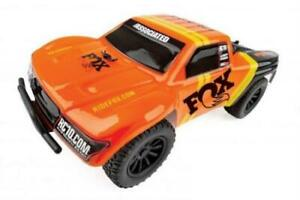 Team Associated 1/28 SC28 2WD SCT Brushed RTR, Fox Edition: Orange