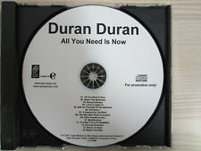 CD /  Duran Duran – All You Need Is Now  / MUSTER / PROMO / RARITÄT /