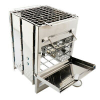 Stainless Steel Outdoor Camping Picnic Grill Outdoor Camping BBQ Stove Oven