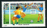 French Polynesia 1978 World Cup Soccer Scott C161 MNH V59