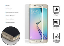 Samsung Galaxy S7 FULL 3D Curved CLEAR Tempered LCD Glass Screen Protector