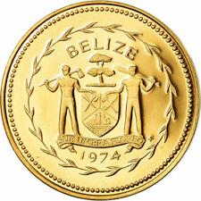 [#780841] Monnaie, Belize, Cent, 1974, Franklin Mint, FDC, Bronze, KM:38