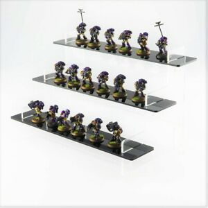 Warhammer 40K Figures Display Stand - Acrylic - 3 Colours - Table Top Gaming