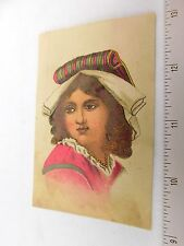 1870's-80's Rockford Steam Bakery Co Crackers Oyster Ginger Snaps Trade Card F32