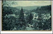 Riesengebirge Schlesien ~1910 Krkonoše Karkonosze MARIENTAL Goldrand-Postkarte