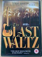 The Last Waltz DVD 1978 Martin Scorsese / The Band Clapton Concert Film Movie