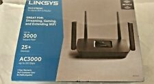 LINKSYS AC3000 3.0 GBPS MAX STREAM TRI-BAND WIFI 5 ROUTER MR900-NP