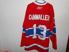 Vintage Mike Cammaleri Montreal Canadians Habs Reebok 52 XXXL Jersey NHL