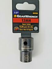 "Gearwrench 1/2"" Drive 6 Point Standard Impact Metric Socket 13mm - 84525N"