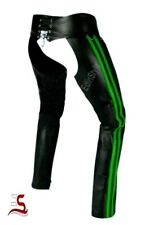 Genuine Cowhide Chaps Attracting Outstanding Gay Pant Leather Motor biker pant