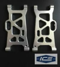 Losi Desert Buggy XL 1/5 Alloy Suspension Arms Pair Front/Rear ICE RC silver