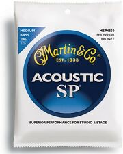 MARTIN ACOUSTIC PHOSPHOR BRONZE BASS STRINGS - MEDIUM MSP4850