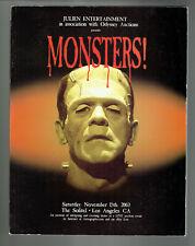 Julien Entertainment Odyssey Auctions Monsters & Magic Catalog Blackstone Coll.