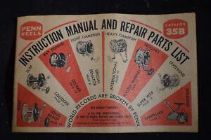 1973 Penn Reels Catalog #35B