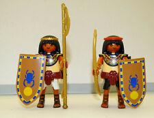 PLAYMOBIL THÈME HISTOIRE ROMAINS EGYPTE LOT DE 3 BOUCLIERS ÉGYPTIEN EN TBE