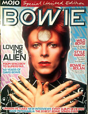 DAVID BOWIE - MOJO MAGAZINE 40 Years Of BOWIE - SPECIAL LIMITED EDITION 2003
