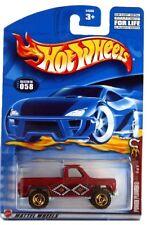 2002 Hot Wheels #58 Wild Frontier Power Plower 0910 crd gold razor wheels
