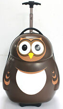 PIPI the Owl Cuties and Pals Trolley Case and Backpack set. Kids Fun Luggage.