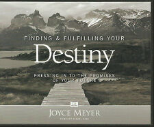 FINDING & FULFILLING YOUR DESTINY   4 CDs Joyce Meyer