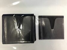 500 BLACK DOUBLE CD DVD BLU RAY VIDEO GAME PLASTIC SLEEVE ENVELOPE HOLD 1000