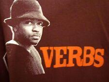 VERBS Christian rap tee XL Knowdaverbs hip hop T shirt Unlocked 2003 Grits OG