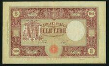 ITALY BANCA D'ITALIA  1948  1,000 LIRE BANKNOTE, VF/XF