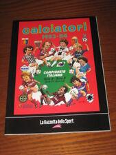 ALBUM CALCIATORI FIGURINE PANINI GAZZETTA DELLO SPORT 1983/84 1983 1984