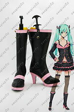 Vocaloid Hatsune Miku Project DIVA F Sweet Devil MIKU Cosplay shoes