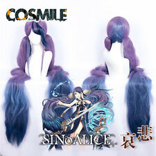 SINoALICE Ningyo Hime Mermaid Princess NieR Team Hair Wig Cap Cosplay Game Sa