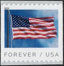 USA Sc. 5343 (55c) Flag 2019 MNH 11 BCA coil single
