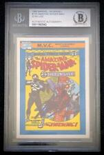 MARVEL UNIVERSE STAN LEE SIGNED AUTOGRAPH BGS AUTHENTIC AMAZING SPIDER-MAN #129