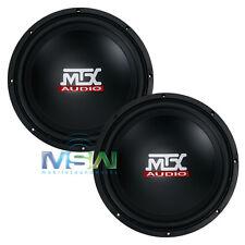 """(2) MTX AUDIO TN10-04 10"""" TERMINATOR Series 4-OHM CAR AUDIO SUBWOOFERS *PAIR*"""
