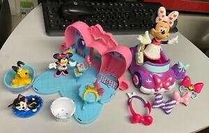 Disney Minnie Mouse Bow-tique Playset & other dress up set  Pluto Figures Car