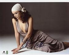 Rachael Leigh Cook Signed GAI COA 8X10 Sexy Photo Auto Autographed GA JSA Rachel