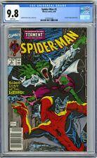 SPIDER-MAN 2 CGC 9.8 NEWSSTAND TODD MCFARLANE 1990 LIZARD APPEARANCE 3779772008