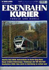 Eisenbahn Kurier Vorbild und Modell  Nr. 427 4/2008 April