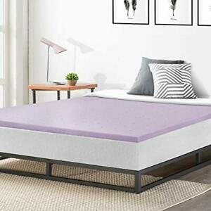 Best Price Mattress 1.5 Inch Ventilated Memory Foam Mattress Topper Soothing ...