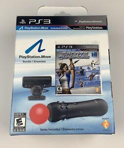 Playstation Move Bundle PS3 Motion & Sports Champions Bundle