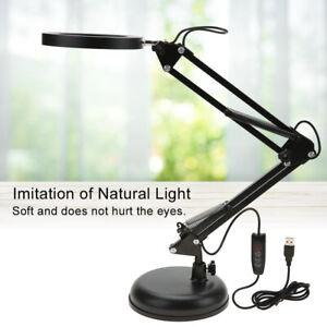 Portable Tattoo Swing Arm Table Lamp Light Manicure USB LED Light Beauty Salon