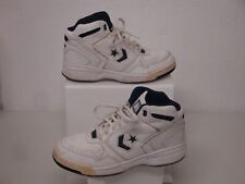 Converse White Leather Basketball Shoes Size 7.5