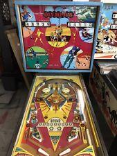 1975 Chicago Coin Olympics Pinball Machine Working 100% Rare
