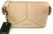 #Twin Set Pochette Trousse Beauty Case Colore Canapa Wco Pelle