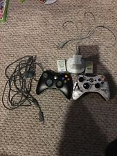 Xbox 360 Controller, Charger, Battery Pack And Charger