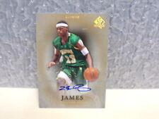 2012-13 SP Authentic Autographs Gold #17 LeBron James/5