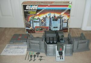 1983 GI Joe Headquarters Command Center Base Cobra Jail Box Blueprints *Complete