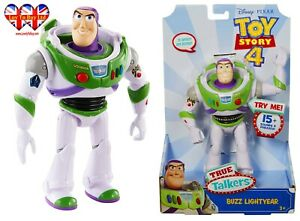 """Disney Toy Story 4 Buzz Lightyear 7"""" Articulated Talking Figurine,Official"""