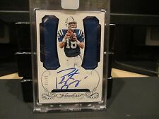 Panini Flawless Blue On Card  Autograph Jersey COLTS Peyton Manning 14/20  2015