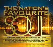 VARIOUS - THE NATION'S FAVOURITE SOUL 3CD ALBUM SET (2015)